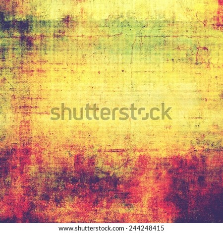 Old style detailed texture - retro background with space for text or image. With different color patterns: purple (violet); yellow (beige); green; pink - stock photo
