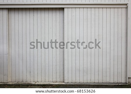 Stock images similar to id 51410557 unfinished boarded up garage