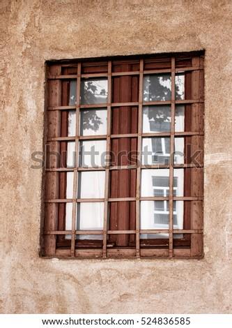 Wooden Window Shutters Stock Photo 356692286 Shutterstock