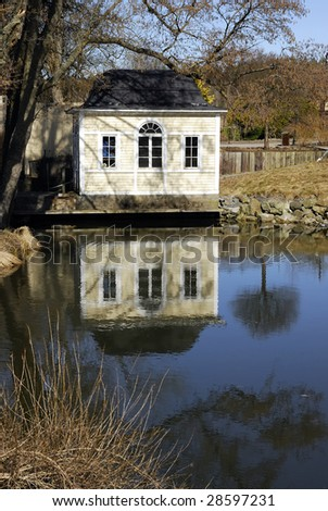 Old Swedish Boathouse