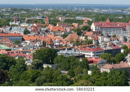 Old Tallinn - stock photo