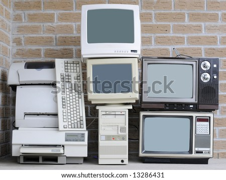 Old technology equipment
