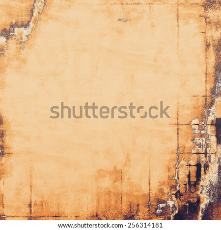 Old texture - ancient background with space for text. With different color patterns: yellow (beige); brown; gray; black - stock photo