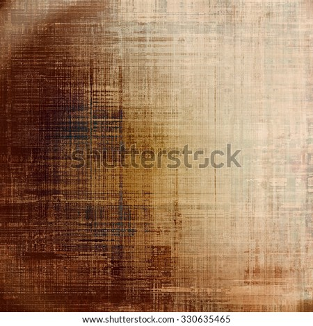 Old texture - ancient background with space for text. With different color patterns: yellow (beige); brown; gray - stock photo