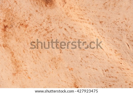 old texture leather Brown for background,Natural brown cow's leather texture - stock photo