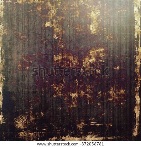 Old texture or antique background. With different color patterns: yellow (beige); brown; black; purple (violet); gray - stock photo