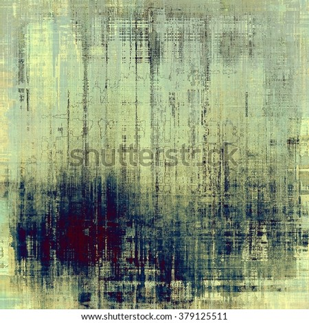 Old texture or antique background. With different color patterns: yellow (beige); gray; blue; cyan; purple (violet) - stock photo