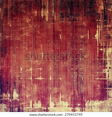 Old texture with delicate abstract pattern as grunge background. With different color patterns: yellow (beige); brown; purple (violet); pink - stock photo