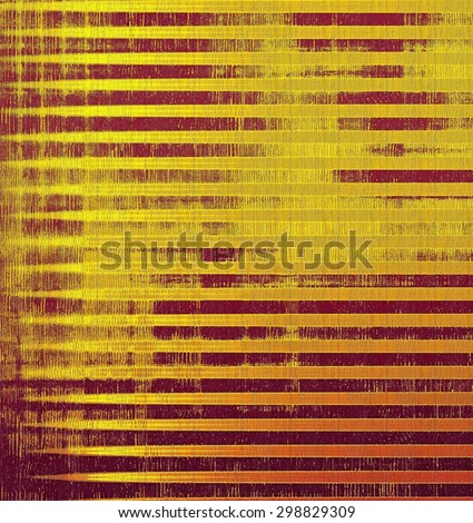 Old Texture. With different color patterns: yellow (beige); brown; purple (violet); red (orange) - stock photo