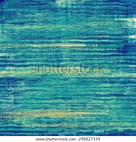 Old Texture. With different color patterns: yellow (beige); green; blue; cyan - stock photo