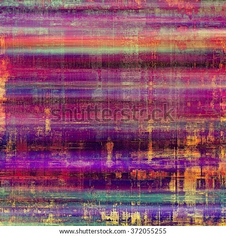 Old Texture. With different color patterns: yellow (beige); red (orange); blue; purple (violet); pink - stock photo