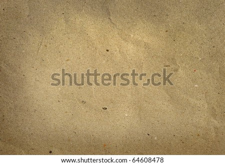 Old textured recycled paper - stock photo