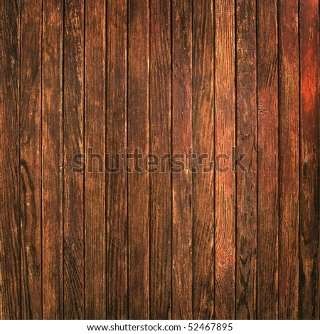 Old timber wall background - stock photo