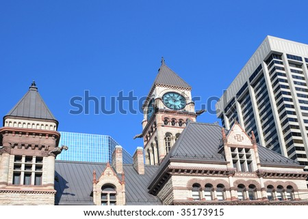 Old Toronto City Hall - stock photo