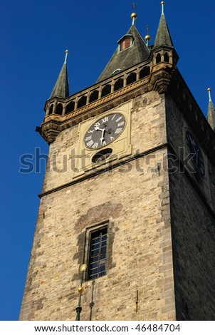 Old Town Hall Tower & Clock in Prague