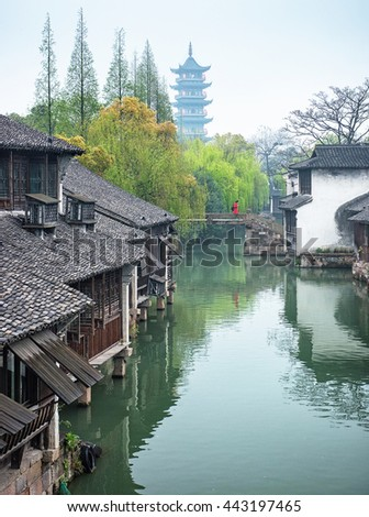 Old town of Wuzhen, China