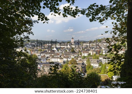 Old Town, Siegen, Germany - stock photo