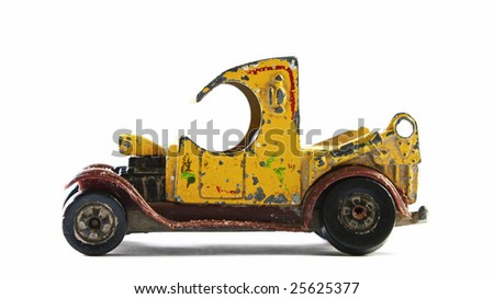 Old Toy Car - stock photo