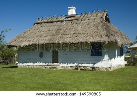 Polish houses stock images royalty free images vectors shutterstock - Traditional polish houses wood mastership ...