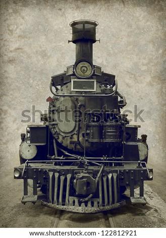 Old Train Locomotive Stock Photo Safe To Use 122812921