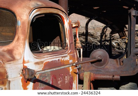 Old truck, Jerome, Arizona, USA