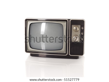 Old TV - stock photo