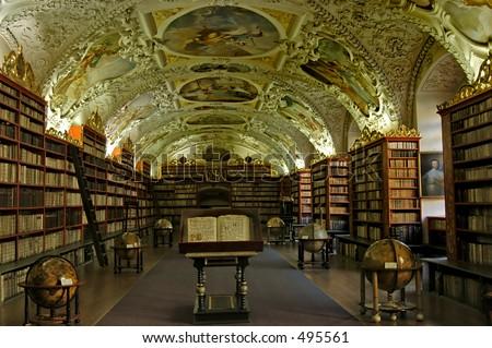 Old University Library - stock photo