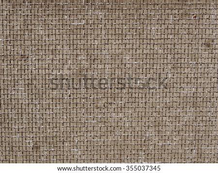 old used dirty aluminium mesh screen construction of mosquito nets macro closeup - stock photo
