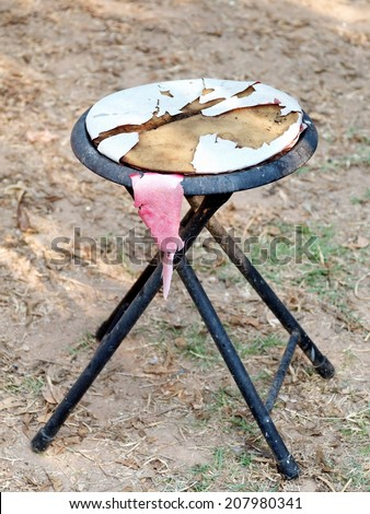 Broken Stool Stock Photos Images Amp Pictures Shutterstock