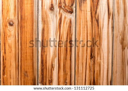 old USSR weathered timber wall 1 - stock photo