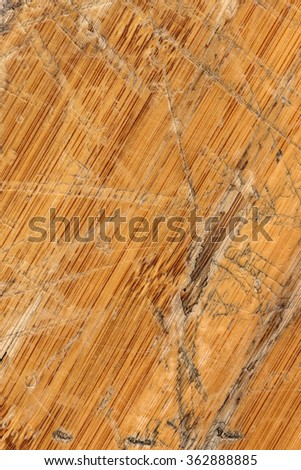 Old Varnished Block-board, Weathered, Cracked, Scratched, Peeled Off, Grunge Texture.