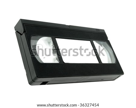 Old vhs tape - stock photo