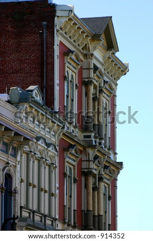Old Victorian Building - stock photo