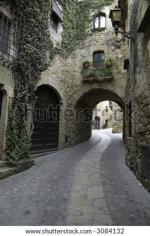 Old Village - stock photo