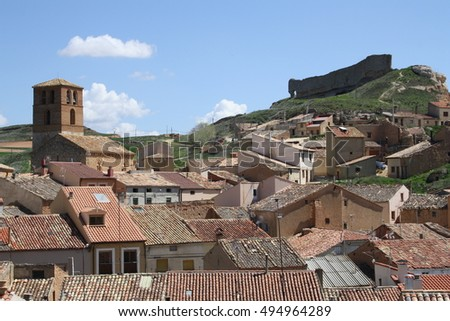 OLD VILLAGE IN SORIA