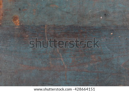 Old, vintage, dusty table with scrath, background, stock picture - stock photo