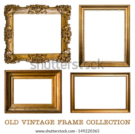 old vintage frame collection