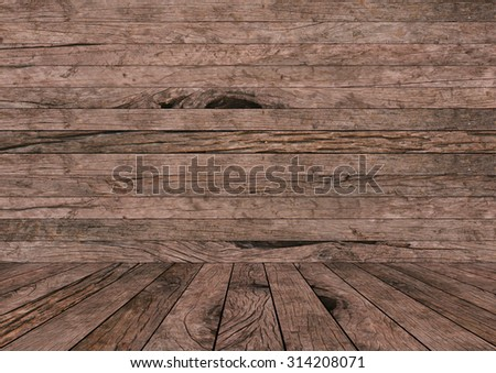 old vintage grungy red brown wood backgrounds textures with tabletop : grunge wooden backgrounds with wood paving.put and show your products on this display. - stock photo
