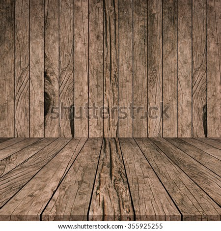 old vintage grungy red brown wood panels tiles background texture with tabletop:grunge aged retro wooden backdrop perspective.advertising/show products on display picture.image with instagram filter. - stock photo
