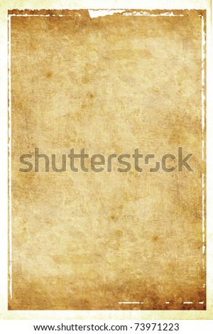 Old vintage paper - stock photo