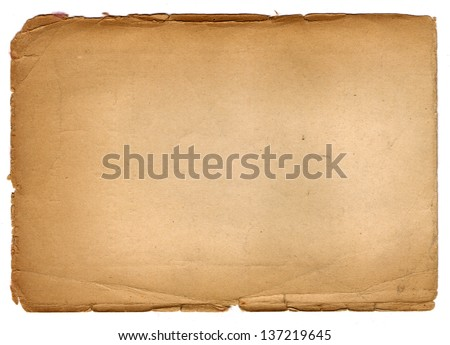 Old vintage paper background - stock photo