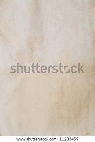 old vintage paper for background - stock photo