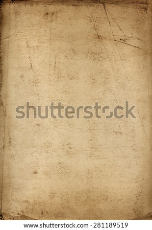 Old vintage paper texture  - stock photo