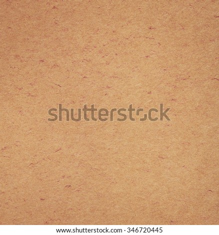 Old vintage paper texture. Brown recycled paper background