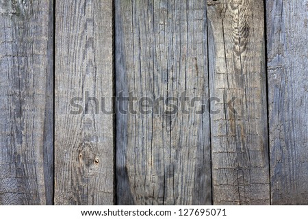 Old vintage wooden boards background - stock photo