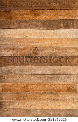 Old vintage wooden wall background or texture - stock photo