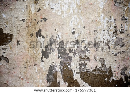 Old wall background in high resolution - stock photo