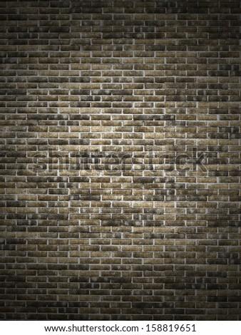 old wall brick texture - stock photo