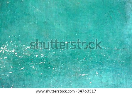 Old wall damaged paint - stock photo