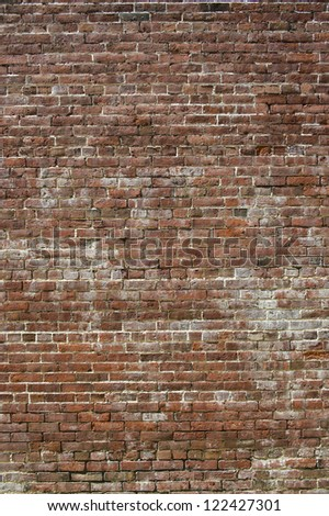 Old wall in a background image - stock photo